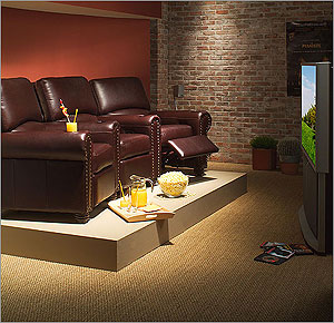 HOME THEATER DECORATING TIPS HOME THEATER FURNITURE