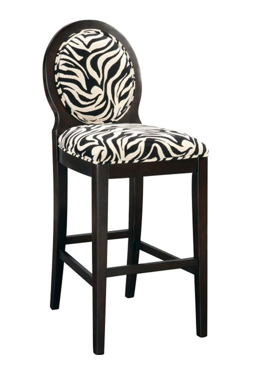 ZEBRA ACCENT CHAIR ZEBRA OCCASIONAL CHAIR ZEBRA SIDE  : zebrabarstool from inspiredinteriors-ca.secure34.ezhostingserver.com size 562 x 750 jpeg 64kB