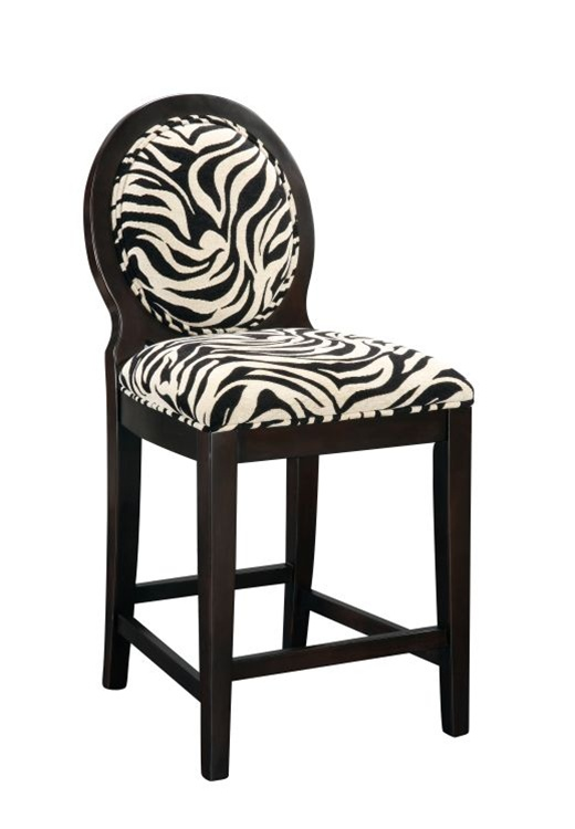 Zebra Accent Chair Zebra Occasional Chair Zebra Side